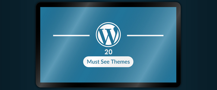 Top 20 Must See WordPress themes!