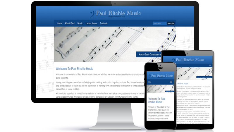 Paul Ritchie Music